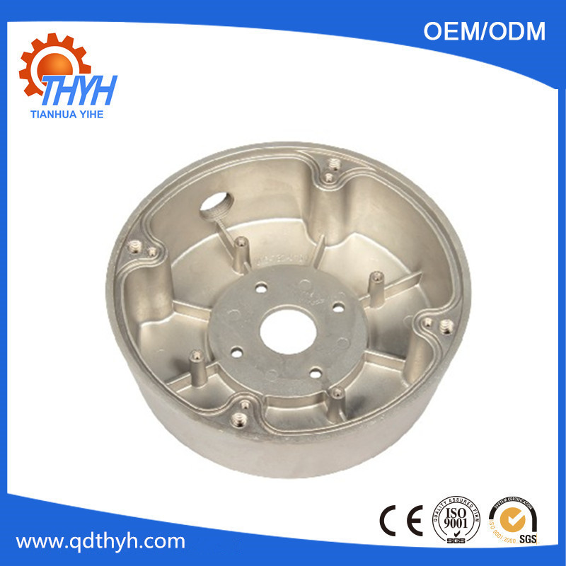 Customized aluminium die cast parts for lighting