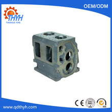 Customized Sand Casting Ductile Iron GearBox Housing With CNC Machining
