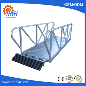 Aluminum Gangways-Custom Metal Fabrication Parts Exporter