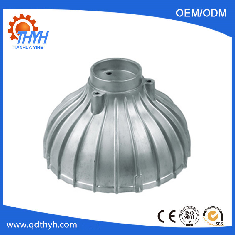 OEM Aluminum Die Casting Parts For Lamps Industries